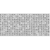 Adesivo De Parede Para Quarto Caça Palavras Preto 160 Cm