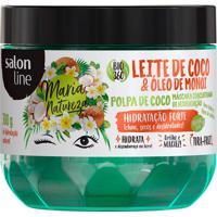 Máscara De Tratamento Salon Line Leite De Coco & Óleo De Monoi 300G