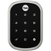 Fechadura Digital Yale Yrd 256 Com Senha Preta E Prata - 05425001-3