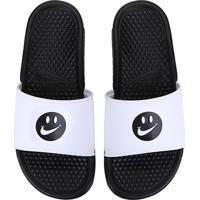 Chinelo Nike Benassi Jdi Print Carinha Masculino - Masculino