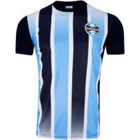 Camiseta Do Grêmio Classic 19 - Masculina - Azul/Preto