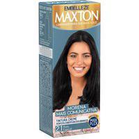 Tintura Creme Maxton 2.1 Preto Especial Com 1 Unidade 1 Unidade