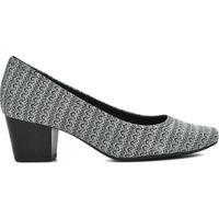 Sapato Usaflex Tecido Trama - Feminino