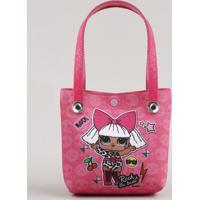 Bolsa Infantil Lol Surprise Estampada Pink