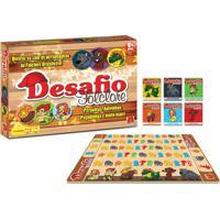 Jogo De Tabuleiro Algazarra Desafio Folclore Multicolorido
