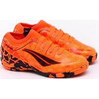 Chuteira Futsal Penalty K Soccer Rx Locker Viii Jr Laranja Infantil 29