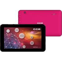 "Tablet Cce Motion Tr72P Rosa - Tela De 7"" - Wi-Fi - Câmera 2Mp - Android 4.2"