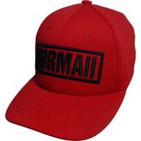 ... Boné Mormaii Flexcap Logotype - Masculino-Vermelho e9084352732