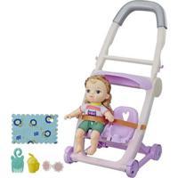 Carrinho De Boneca - Baby Alive Littles - Loira - E7182 - Hasbro
