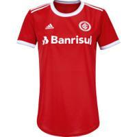 Camisa Do Internacional I 2020 Adidas - Feminina - Vermelho