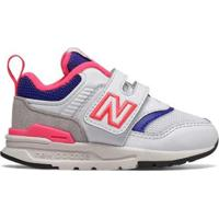 Tênis New Balance 997 Infantil - Feminino-Branco