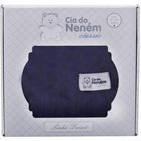Manta Tricot Azul Marinho Cia Do Neném Classic Minasrey 6000