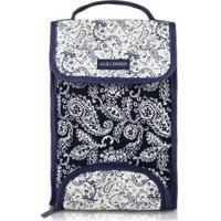 Bolsa Térmica Jacki Design Paisley - Unissex-Azul