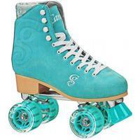 Patins Quad Roller Derby - Candi Girl Carlin Seafoam - Tamanho 35 Verde