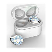 Fone De Ouvido Sdbc Se6 Bluetooth 5.0 Com Case - Prata Com Flores