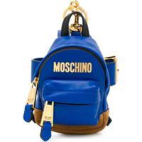 Moschino Bolsa Transversal Mini - Azul