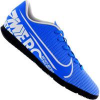 Chuteira Futsal Nike Mercurial Vapor 13 Club Ic - Adulto - Azul Cla/Branco