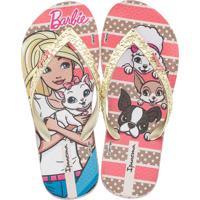 Chinelo Infantil Barbie Ipanema 26152