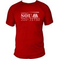 Camiseta Uppercut Jiu-Jitsu Dry Fit Sou Vermelha