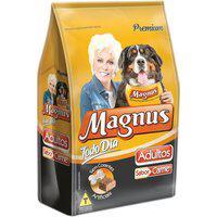 Ração Para Cães Magnus Premium Todo Dia Adultos Sabor Carne 15Kg