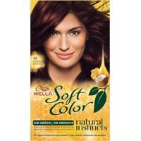 Tintura Wella Soft Color Kit Creme Sem Amônia Cor 46 Borgonha