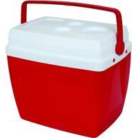 Caixa Térmica Mor, 34 Litros - Vermelha