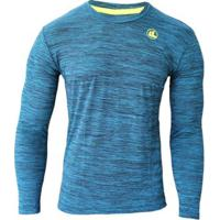 Camisa Esporte Legal Ml Rajada Plank Uv45 Masculina - Masculino