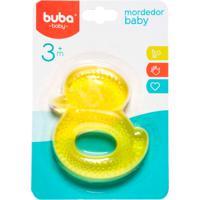 Mordedor Para Bebê Buba Gelado Com Água Patinho Amarelho