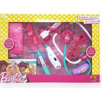 Barbie Kit Médica Médio - Fun Divirta-Se - Kanui