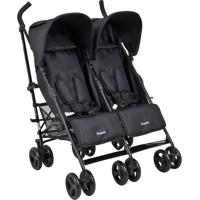 Carrinho De Bebê Twingo-Burigotto - Black