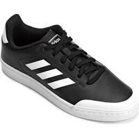 Tênis Adidas Retro Court Wild Card Masculino - Masculino-Branco+Preto