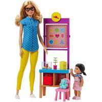 Boneca Barbie Careers Conjunto De Professora - Mattel