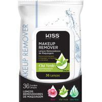 Kiss Ny Lenco Demaquilante Cha Verde Único
