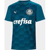 Camisa De Goleiro Palmeiras Ii 20/21 S/N° Torcedor Puma Masculina - Masculino