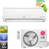 Ar Condicionado Split Wall Lg Libero E+ Inverter 11500 Btu/H Quente-Frio 220V