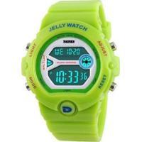 Relógio Skmei Digital Feminino - Feminino-Verde