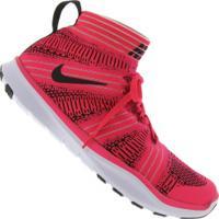 Tênis Nike Free Train Virtue - Masculino - Rosa Esc/Preto