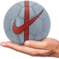Minibola De Futebol De Campo Nike Mercurial - Cinza 145ca6702a4ea