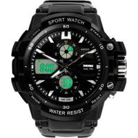 Relógio Skmei Anadigi 0990L Preto