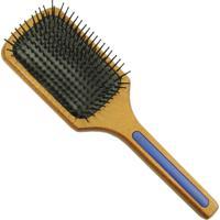 Escova De Cabelo Escovas Fidalga Raquete De Madeira Azul