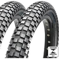 Kit 2 Pneus Maxxis Holy Roller 26X2.40 Arame - Unissex
