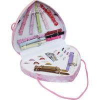 Kit Relógio Shiny Toys Amor Rosa Model 4 Rosa