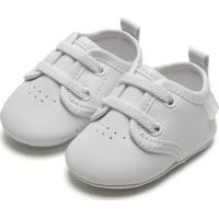 Sapato Pimpolho Menino Liso Branca