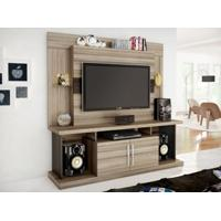 "Home Theater Para Tv Até 52"" Duo Avelã/Capuccino - Caemmun"