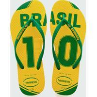 Chinelo Infantil Brasil Teams Havaianas