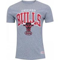 Camiseta Mitchell & Ness Nba Chicago Bulls Team Arch Masculino - Masculino