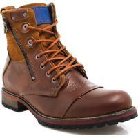 Bota Coturno Zariff Shoes Rock Marrom