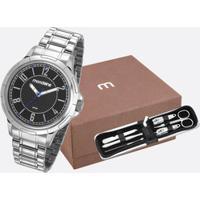Kit Relógio Masculino Mondaine 83440G0Mvne1Kc
