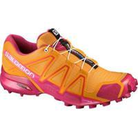 Tênis Salomon Speedcross 4 W Feminino - Feminino-Laranja