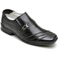 Sapato Social Couro Ranster Confort Masculino - Masculino-Preto